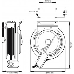Noix de serrage en acier inox 304L pour grillage