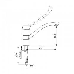 Lave ustensiles  JER-8150